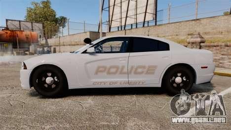 Dodge Charger 2011 LCPD [ELS] para GTA 4 left