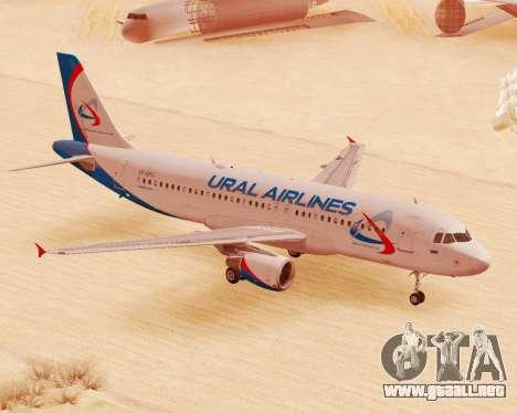 Airbus A320-200 De Ural Airlines para GTA San Andreas