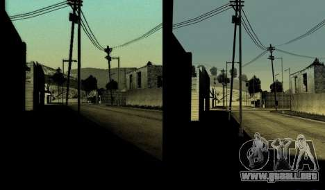 HD tarjeta, el radar y el menú para GTA San Andreas