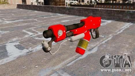 El lanzallamas MX-295 para GTA 4 tercera pantalla