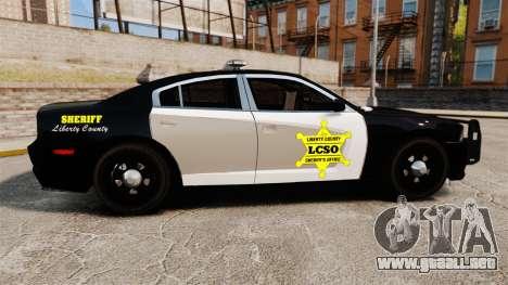 Dodge Charger 2013 LCSO [ELS] para GTA 4 left