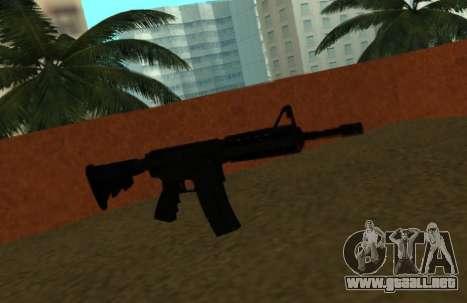 M4 CQB para GTA San Andreas
