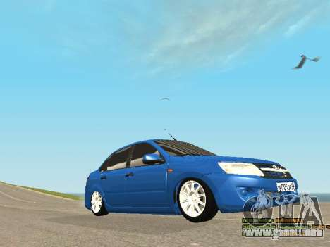 VAZ 2190 para la vista superior GTA San Andreas