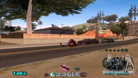 C-HUD Google para GTA San Andreas quinta pantalla