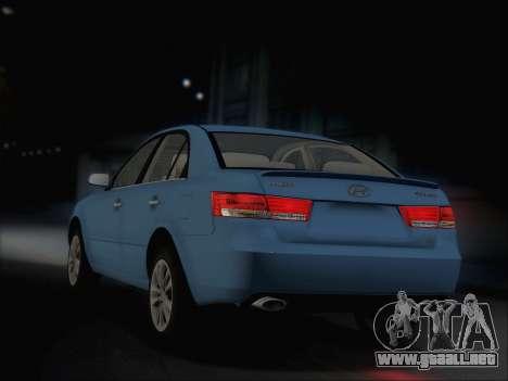Hyundai Sonata 2009 para la visión correcta GTA San Andreas