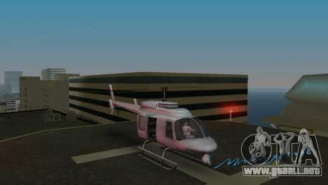 Maverick из GTA EN para GTA Vice City left