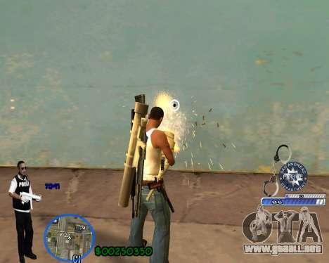 C-HUD For Police Departament para GTA San Andreas