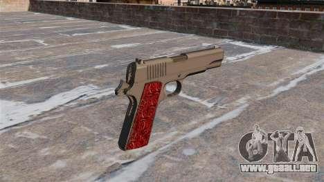 Pistolas Colt 1911 Chrome para GTA 4 segundos de pantalla