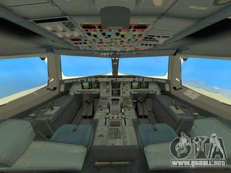 A380-800 Hainan Airlines para visión interna GTA San Andreas