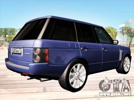 Land Rover Supercharged Stock 2010 V2.0 para la visión correcta GTA San Andreas
