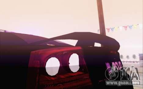Dodge Charger SRT8 FBI Police para la visión correcta GTA San Andreas