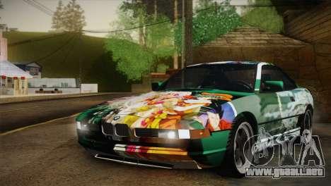 BMW M8 Custom para la vista superior GTA San Andreas