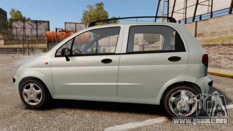 Daewoo Matiz SE 1998 para GTA 4 left