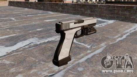 La pistola Glock 20 ACU Digital para GTA 4 segundos de pantalla