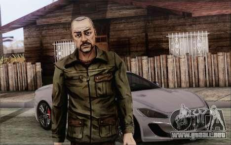 Pete from Walking Dead para GTA San Andreas