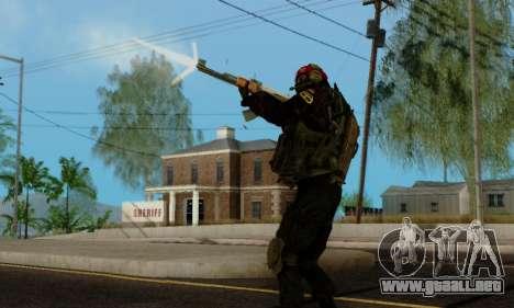 Kopassus Skin 1 para GTA San Andreas décimo de pantalla