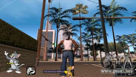 C-HUD Tom and Jerry para GTA San Andreas