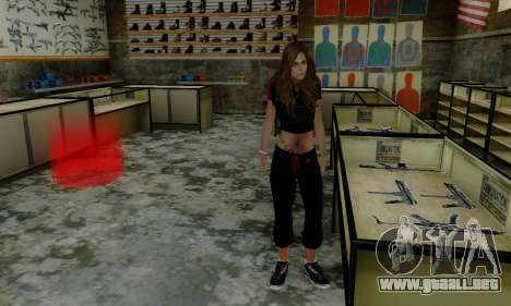 Carlita para GTA San Andreas sucesivamente de pantalla