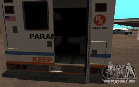 GTA 5 Ambulance para GTA San Andreas left