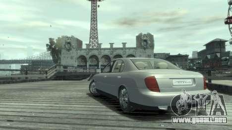 Daewoo Shiraz para GTA 4 visión correcta