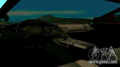 Nuevo Turismo para la visión correcta GTA San Andreas