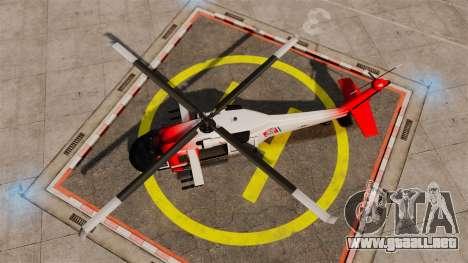 Annihilator U.S. Coast Guard HH-60 Jayhawk para GTA 4 visión correcta