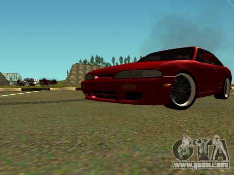 Nissan Silvia S14 Zenki para visión interna GTA San Andreas