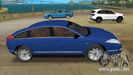 Citroen C6 para GTA Vice City left