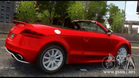 Audi TT RS v1.0 para GTA 4 visión correcta