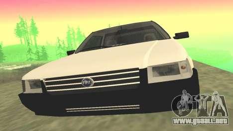 Fiat Uno Fire Cargo para GTA San Andreas left