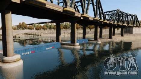 La carretera por debajo del puente para GTA 4 quinta pantalla