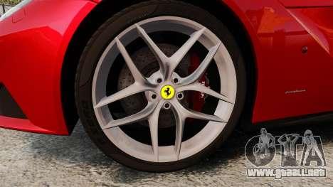 Ferrari F12 Berlinetta 2013 [EPM] Deaths-head para GTA 4 vista hacia atrás