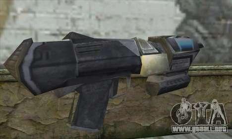 El rifle de Star Wars para GTA San Andreas segunda pantalla