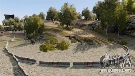 Rally de pista para GTA 4 tercera pantalla