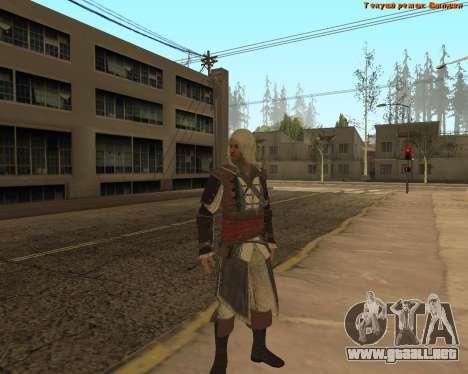 Asesino Edward para GTA San Andreas segunda pantalla
