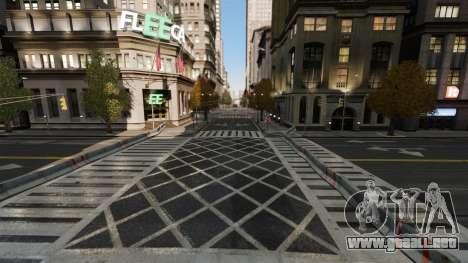 Ilegal de la calle deriva de la pista para GTA 4 tercera pantalla