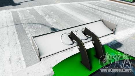Audi RS5 DTM para GTA 4 vista hacia atrás