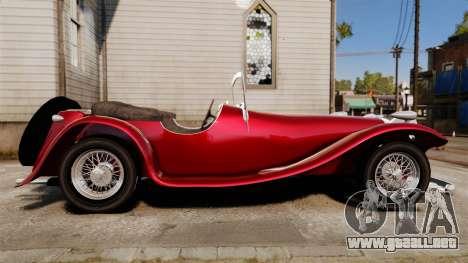 Jaguar SS100 para GTA 4 left