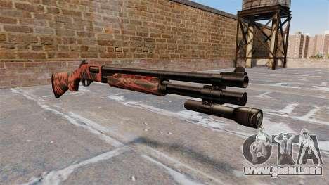 Riot escopeta Remington 870 Wingmaster para GTA 4