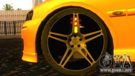 Opel Vectra B TUNING para la visión correcta GTA San Andreas