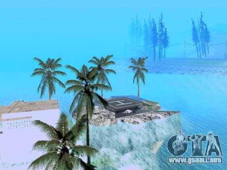 Nueva isla v1.0 para GTA San Andreas