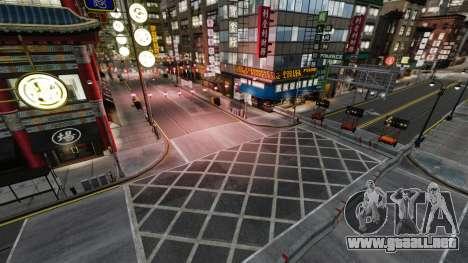 Ilegal de la calle deriva de la pista para GTA 4 adelante de pantalla