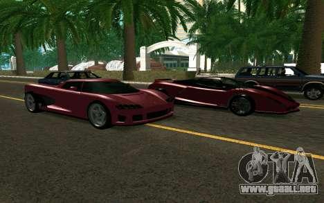 GTA V Entity XF para la visión correcta GTA San Andreas