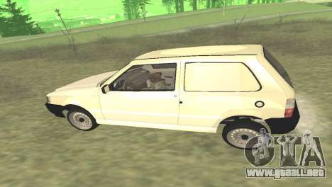 Fiat Uno Fire Cargo para la visión correcta GTA San Andreas