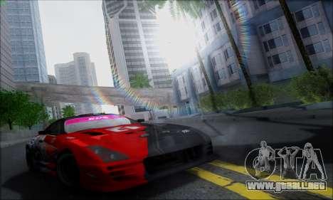 Lensflare By DjBeast para GTA San Andreas sucesivamente de pantalla