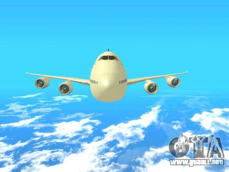 Boeing 747 Air China para vista lateral GTA San Andreas