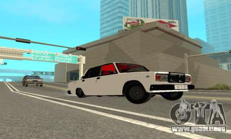 VAZ 2107 Avtosh para la visión correcta GTA San Andreas