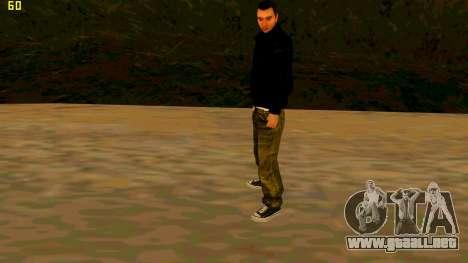La nueva textura Claude para GTA San Andreas tercera pantalla