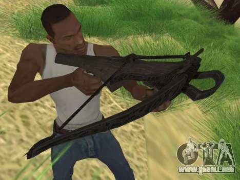 Ballesta de Skyrim para GTA San Andreas segunda pantalla