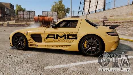 Mercedes-Benz SLS 2014 AMG Driving Academy v2.0 para GTA 4 left